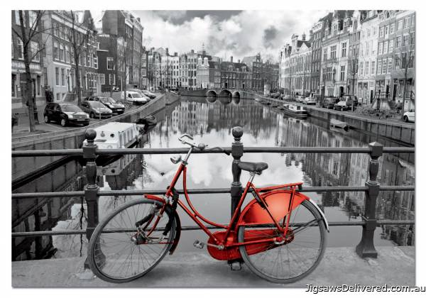 Amsterdam (EDU14846), a 1000 piece jigsaw puzzle by Educa.