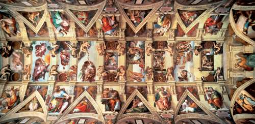 Sistine Chapel (18000pc) (EDU16065), a 18000 piece jigsaw puzzle by Educa. Click to view larger image.