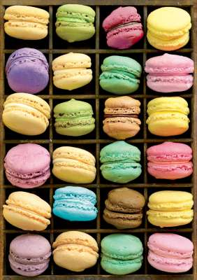 Macaroons (EDU15989), a 1000 piece jigsaw puzzle by Educa. Click to view larger image.