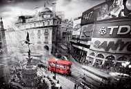 London Bus, Piccadilly Circus (EDU15981), a 1000 piece Educa jigsaw puzzle.