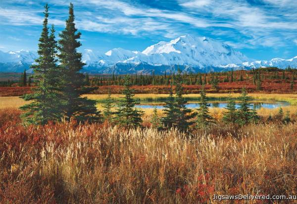Denali National Park, Alaska (EDU16008), a 1500 piece jigsaw puzzle by Educa.