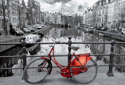 Amsterdam (EDU16018), a 3000 piece jigsaw puzzle by Educa. Click to view larger image.