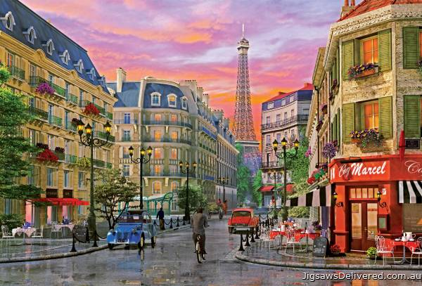 Rue Paris (EDU16022), a 5000 piece jigsaw puzzle by Educa.