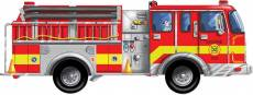 Giant Fire Truck (Floor Puzzle) (MND436), a 24 piece Melissa and Doug jigsaw puzzle.
