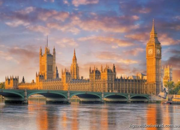 London Houses of Parliament (CLE 39269), a 1000 piece jigsaw puzzle by Clementoni.