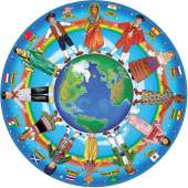 Children Around the World (Floor Puzzle) (MND2866), a 48 piece Melissa and Doug jigsaw puzzle.