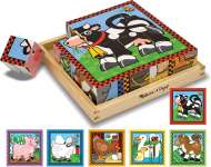 Farm Block Puzzle (MND775), a 16 piece Melissa and Doug jigsaw puzzle.