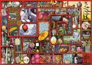 The Red Box (RB19398-1), a 1000 piece jigsaw puzzle by Ravensburger and artist Colin Thompson. Click to view this jigsaw puzzle.
