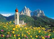 Church of Saint Valentine, Dolomites, Italy (CLE 31997), a 1500 piece Clementoni jigsaw puzzle.