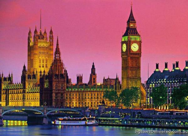 London (CLE 30378), a 500 piece jigsaw puzzle by Clementoni.