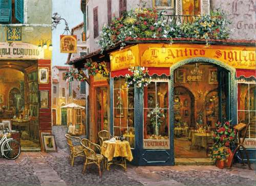 L'Antico Sigillo (CLE 30104), a 500 piece jigsaw puzzle by Clementoni. Click to view larger image.