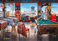 Billiards (Interiors) (HOL095568), a 1000 piece Holdson jigsaw puzzle.