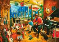 Crossroads Music (Interiors) (HOL095582), a 1000 piece Holdson jigsaw puzzle.