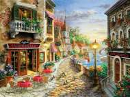 Hotel Villa D'Este (SUN19338), a 1000 piece jigsaw puzzle by Sunsout and artist Nicky Boehme. Click to view this jigsaw puzzle.