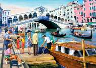 Vintage Venice (RB19476-6), a 1000 piece jigsaw puzzle by Ravensburger and artist Kevin Walsh. Click to view this jigsaw puzzle.