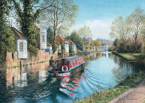 Hertfordshire (JUM11063), a 1000 piece jigsaw puzzle by Jumbo. Click to view larger image.