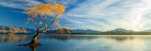 Lake Wanaka (HEY29673), a 1000 piece jigsaw puzzle by HEYE. Click to view larger image.