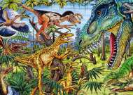 Dinosaurs (Carnivores) (HEY29660), a 500 piece jigsaw puzzle by HEYE and artist Marion Wieczorek. Click to view this jigsaw puzzle.