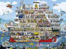 Cruise (HEY29697), a 1500 piece HEYE jigsaw puzzle.