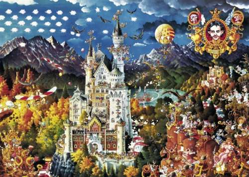 Bavaria (HEY29700), a 2000 piece jigsaw puzzle by HEYE. Click to view larger image.