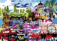 I Love London (City Life) (HEY29682), a 1000 piece HEYE jigsaw puzzle.