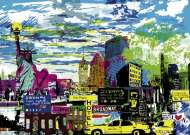 I Love New York (City Life) (HEY29681), a 1000 piece jigsaw puzzle by HEYE and artist Catherine Nice. Click to view this jigsaw puzzle.