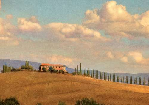 Tuscany (PIA538742), a 1000 piece jigsaw puzzle by Piatnik. Click to view larger image.