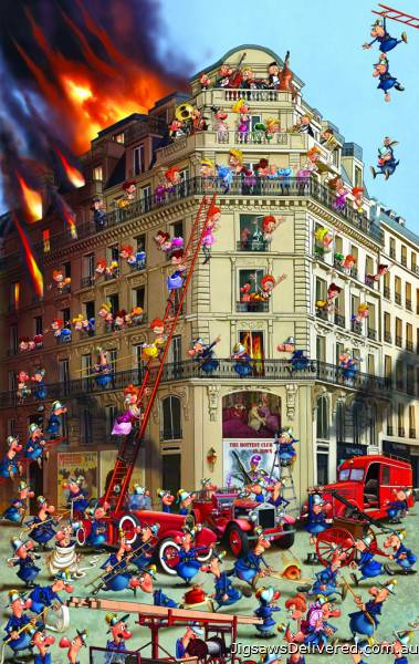 The Hottest Club in Town (PIA535444), a 1000 piece jigsaw puzzle by Piatnik.