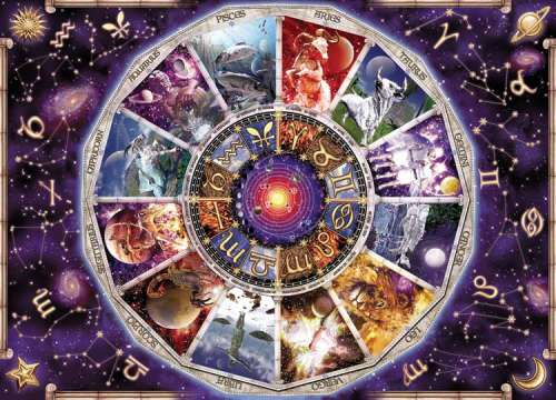 Astrology (9000pc) (RB17805-6), a 9000 piece jigsaw puzzle by Ravensburger. Click to view larger image.