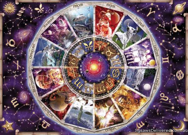 Astrology (9000pc) (RB17805-6), a 9000 piece jigsaw puzzle by Ravensburger.