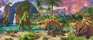 Land of the Dinosaurs (RB12747-4), a 200 piece Ravensburger jigsaw puzzle.