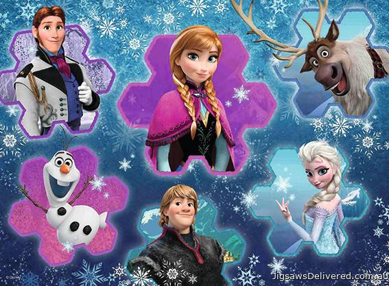 Disney Frozen (RB13180-8), a 300 piece jigsaw puzzle by Ravensburger.