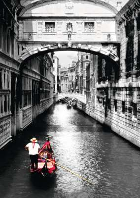 Venice Grand Canal (RB19472-8), a 1000 piece jigsaw puzzle by Ravensburger. Click to view larger image.