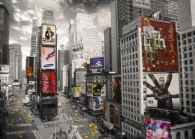 Times Square Eye (RB19470-4), a 1000 piece jigsaw puzzle by Ravensburger. Click to view this jigsaw puzzle.
