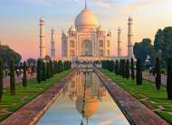 Taj Mahal (RB14534-8), a 500 piece jigsaw puzzle by Ravensburger. Click to view this jigsaw puzzle.