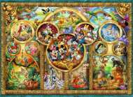 Disney Family (RB14183-8), a 500 piece Ravensburger jigsaw puzzle.