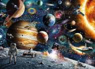 Outer Space (RB09615-2), a 60 piece Ravensburger jigsaw puzzle.