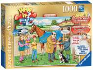 The Racehorse (What If? #8) (RB19438-4), a 1000 piece Ravensburger jigsaw puzzle.