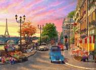 Evening in Paris (RB14505-8), a 500 piece Ravensburger jigsaw puzzle.