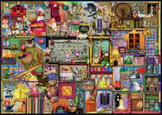 The Craft Cupboard (RB19412-4), a 1000 piece Ravensburger jigsaw puzzle.