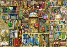 The Bizarre Bookshop 2 (RB19314-1), a 1000 piece Ravensburger jigsaw puzzle.