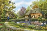 Meadow Cottage (EDU16356), a 5000 piece Educa jigsaw puzzle.