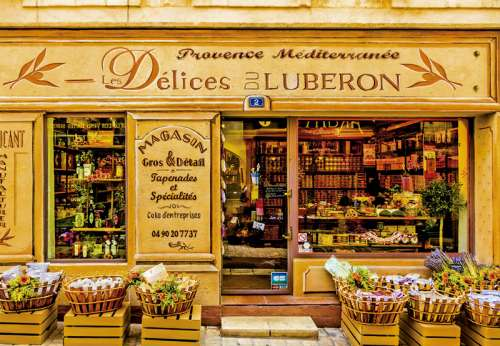 Les Delicies Du Luberon (EDU16317), a 2000 piece jigsaw puzzle by Educa. Click to view larger image.