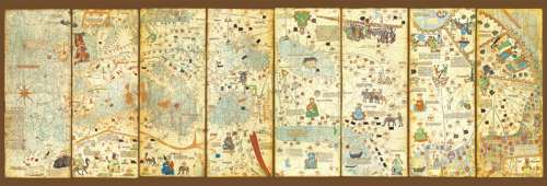 World Map 1375 (EDU16355), a 3000 piece jigsaw puzzle by Educa. Click to view larger image.