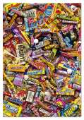 Chocolate Bars (EDU15513), a 500 piece Educa jigsaw puzzle.