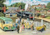 The Train Station (HOL096138), a 1000 piece Holdson jigsaw puzzle.
