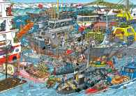 Sea Port (JUM19012), a 500 piece jigsaw puzzle by Jumbo and artist Jan Van Haasteren. Click to view this jigsaw puzzle.