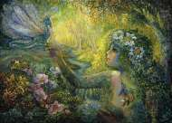 The Dryad and Dragonfly (HOL096558), a 1000 piece Holdson jigsaw puzzle.