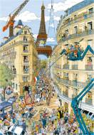 Paris by Fleroux (RB19503-9), a 1000 piece Ravensburger jigsaw puzzle.