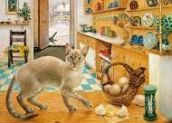 Ra-Ra in the Kitchen (HOL096459), a 1000 piece Holdson jigsaw puzzle.